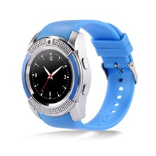 A10บลูทูธสมาร์ทนาฬิกาMTK6261Dที่มีซิมช่องเสียบการ์ดTF Pedometerป้องกันการสูญเสียผู้ชายผู้หญิงSmartwatchสำหรับAndroidมาร์ทโฟน