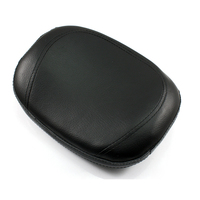 Neverland 11 2 Black Passenger Sissy Bar Backrest Cushion Pad For Harley Custom Bikes Choppers Touring