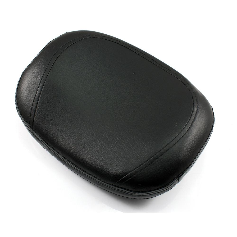 Neverland 11.2 Sissy Bar Backrest Cushion Pad for Honda Kawasaki Suzuki Yamaha Custom Bobber Black