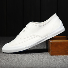 Men's shoes to help low canvas shoes boys lazy shoes flats loafers