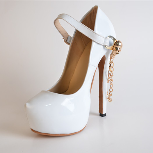 buy wholesale white wedding shoes cheap from china