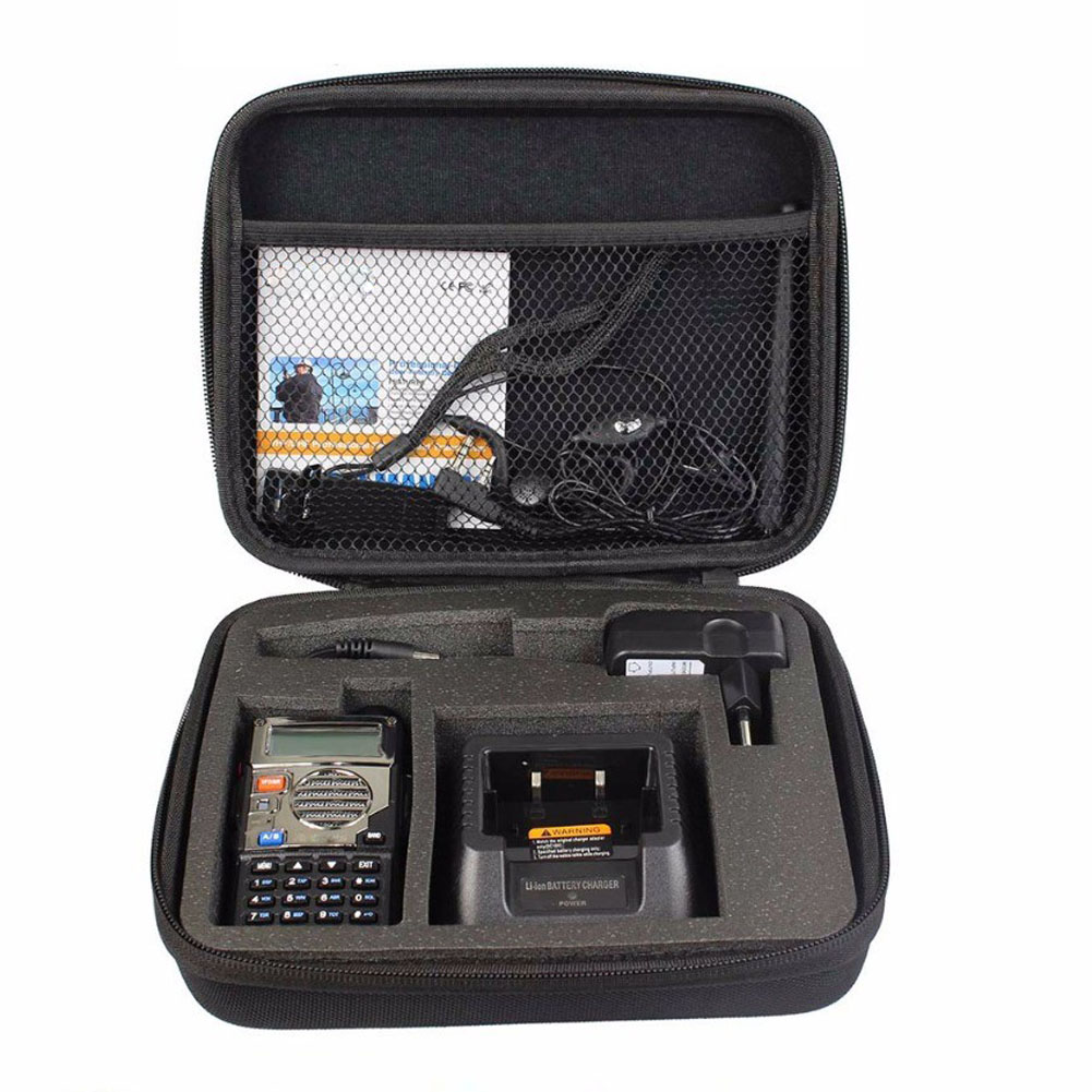 UV5R Case Bag Handbag Portable Bag Suitable For Baofeng UV-5RA UV-5RE DM-5R Plus High Quality Walkie Talkie Accessories