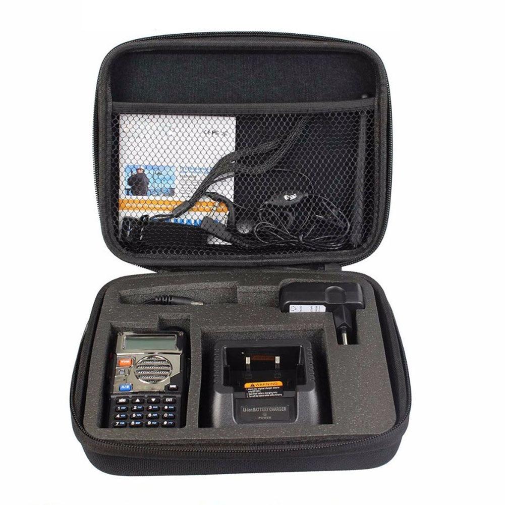 UV5R Case Bag Handbag Portable Bag Suitable For Baofeng UV-5RA UV-5RE DM-5R Plus High Quality Walkie Talkie Accessories