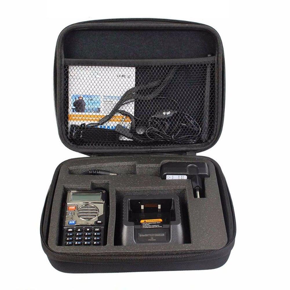 UV5R Case Bag Handbag Portable Walkie-Talkie Bag Suitable For Baofeng UV-5R 5RE High Quality Walkie Talkie Accessories