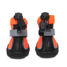 Waterproof Pet Shoes For Winter Dog Nonslip Boots Big Rain Snow Outdoor Paw Protector Botas Perro