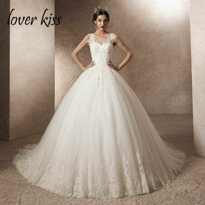 Vente acheter rechercher l'original Lover Kiss Vestido De Noiva Real Photo Princess Sleeveless ...