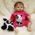 45 CM Silicone Renascer Baby Dolls Crianças Playmate Presente Para meninas 18 Polegada Vivo Brinquedos Macios Do Bebê para o Aniversário Das Crianças presentes