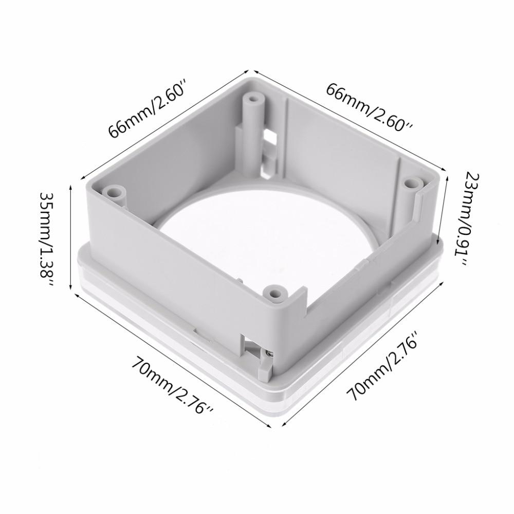 TM618 CN101 CN101A L701 Panel Mounting Plastic Transparent Case WaterProtection