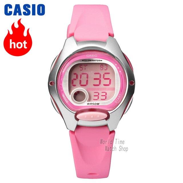 5b5457adc2c Casio relógio Analógico esportes relógio de quartzo Dos Homens e das  mulheres estudante luminosa relógio à