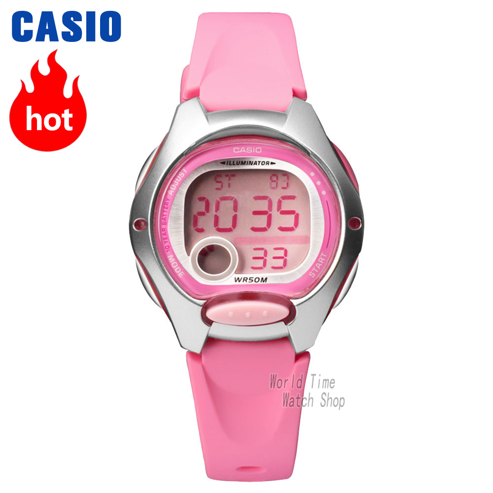 Casio watch Fashion Women Sports Student Watch LW-200-4B LW-200-7A все цены