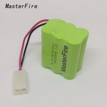MasterFire 9PACK/LOT New Original Ni-MH 7.2V AA 1800mAh Battery Rechargeable Batteries Pack With Plugs