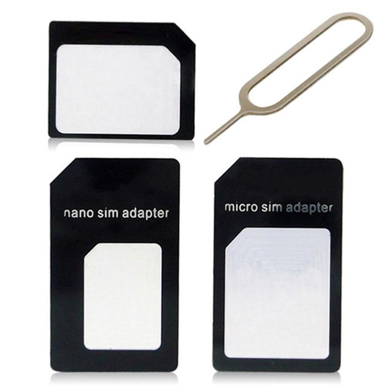 Sim Card Adapters For Blu Studio 5.5 S/5 E/5.0 S II/5 CE/5.0 C/C Mini Nano Micro Standard Sim Card Adapter abrasive Bar Card Pin