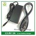 13.8 V 2A cargador de batería de plomo / acumulador cargador / fuente / AC para adaptador herramienta eléctrica