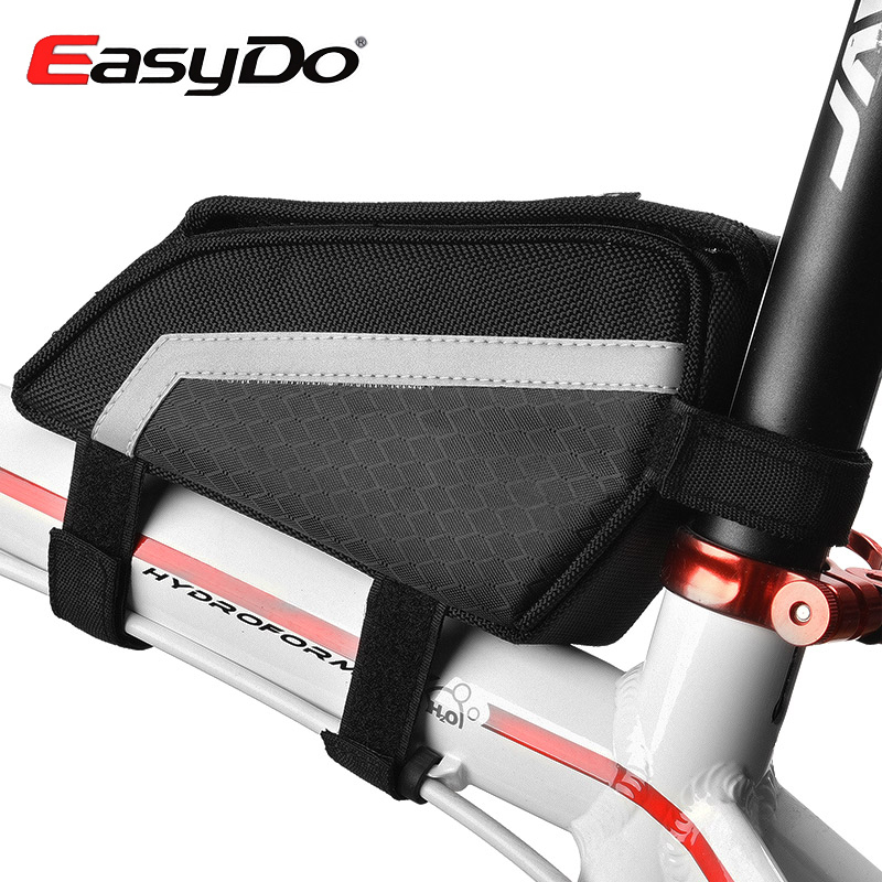 EASYDO Rainproof Cycling Accessories Mountain Bike Bag For Bicycle Front Frame Top Tube Pouch Bolso Bicicleta Sacoches Velo