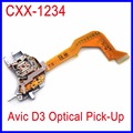 Cxx1234 lente laser para pioneer avic d3 avhp6550 p7550 cd dvd player peças avicd3 optical pickup lasereinheit conjunto unidade