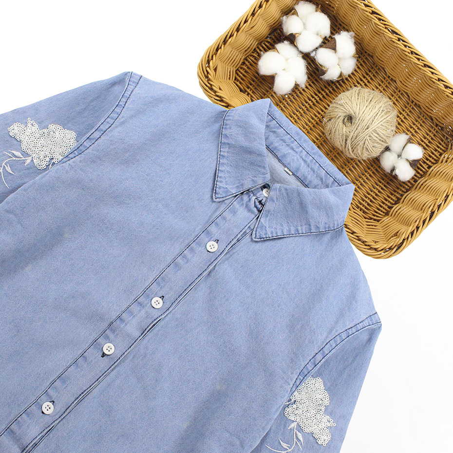 90fb47a02cd243 Teenage Girl Denim Shirt - BCD Tofu House