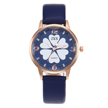 2019 New Style Fashion Ultra-Thin Ms Watch Cool Turntable Lovely Pattern Quartz Students Belt Table Lovers