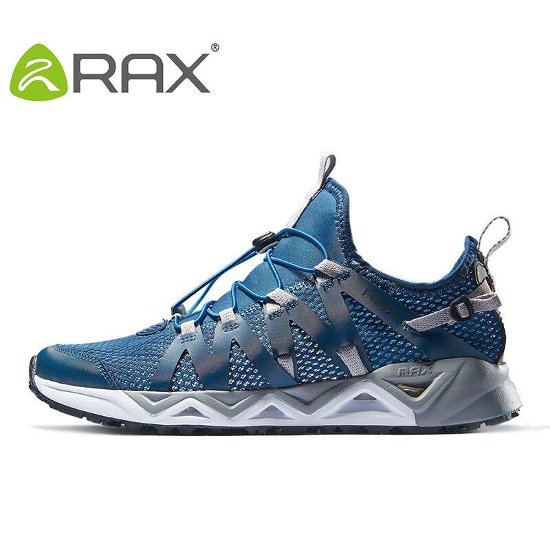 Rax chaussures de Trekking pour hommes chaussures de randonnée chaussures de marche de montagne pour hommes femmes chaussures de randonnée chaussures de sport d'escalade respirantes - 2