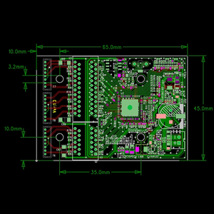 "Image 5 - מיני PBCswitch מודול ת""ת OEM מודול מיני size3Ports רשת מתגי Pcb לוח מיני מודול מתג אתרנט 10/100/ 1000 Mbps"