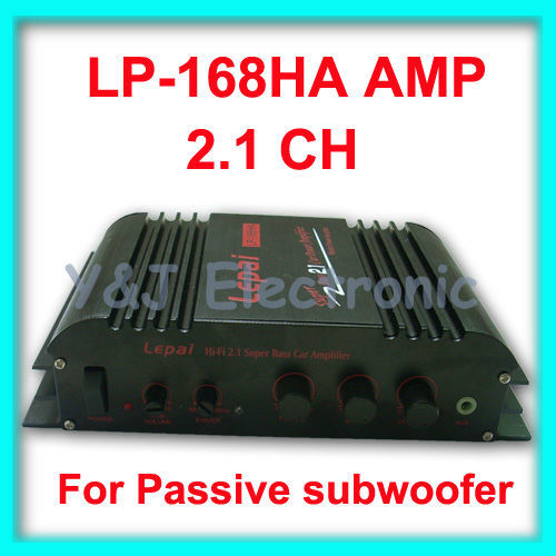 wholesale 7PCS/lot HiFi 2.1 channel 2CH LP168 Mini Amplifier Power Amp Stereo Amp for MP3 MP4 Car Motorcycle LP-168 LP-168HA