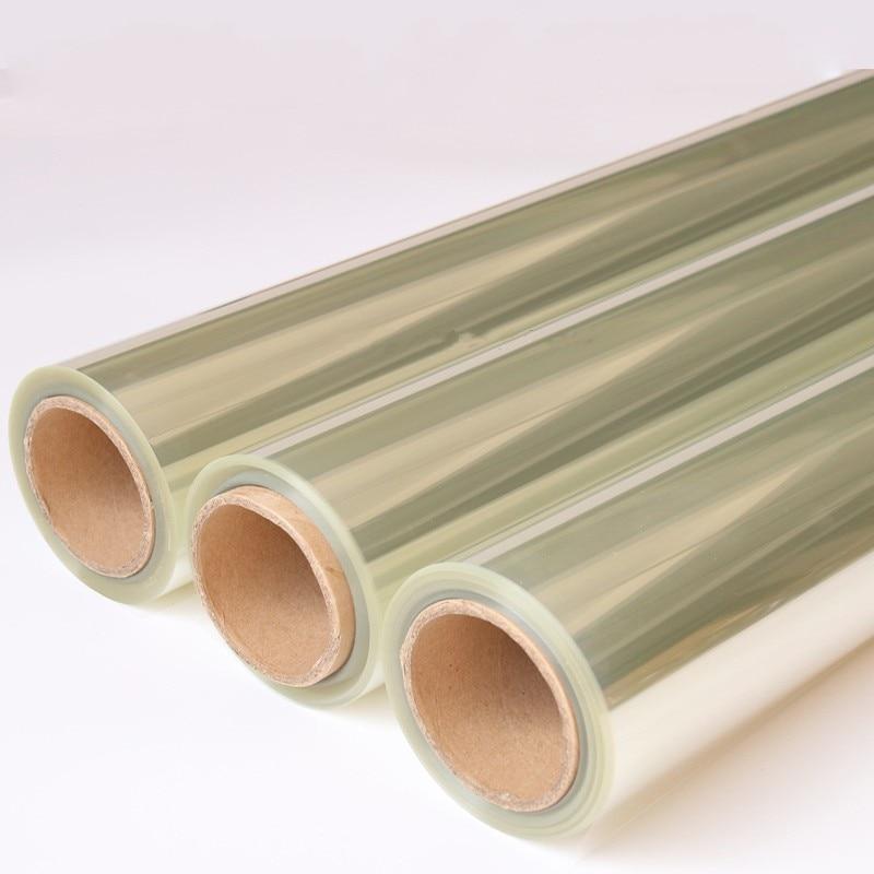 4mil 100 см широкая безопасная и безопасная прозрачная оконная пленка, небьющаяся для окон, стекла, общественных мест, защитная пленка raamfolie - 2