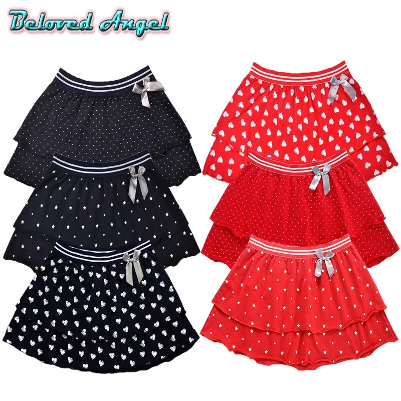 2019 Fashion Cute Baby Girls Summer Tutu Skirts Star Dot Stripe Print Princess Girls Ballet Dancing Party Skirt Cotton Clothing