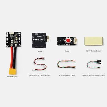 Drone Mini Rc | Radiolink Mini PIX Di Controllo Di Volo Di Smorzamento Delle Vibrazioni Da Software Atitude Tenere Premuto Per RC Racer Drone Quadcopter