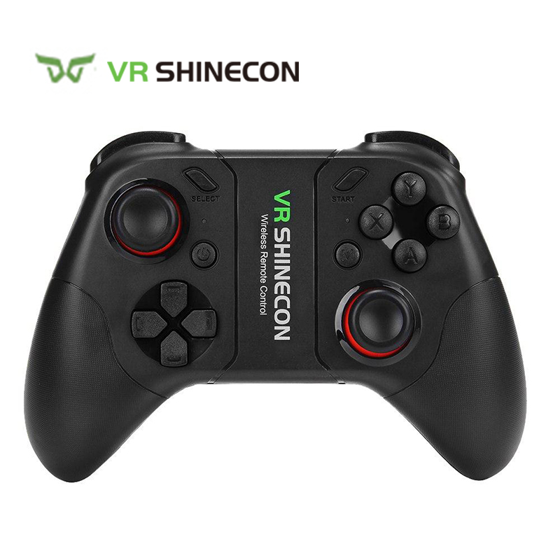 VR SHINECON SC-C08 Wireless Bluetooth Controller Gamepad Dual Classic Joystick for iOS Android Windows VR PK xbox ps4 controller magicsee r1 bluetooth 4 0 wireless gamepad for ios android