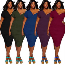 New hot Middle Eastern fashion personality sexy big size bare shoulder loose middle-aged female fat MM dress