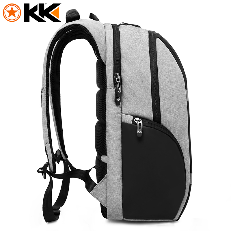 KAKA Rugzak Brand Design USB Charging Men Backpack 15 inch Laptop Bag Backpack Male Waterproof Schoolbag Backpack Mochila 2