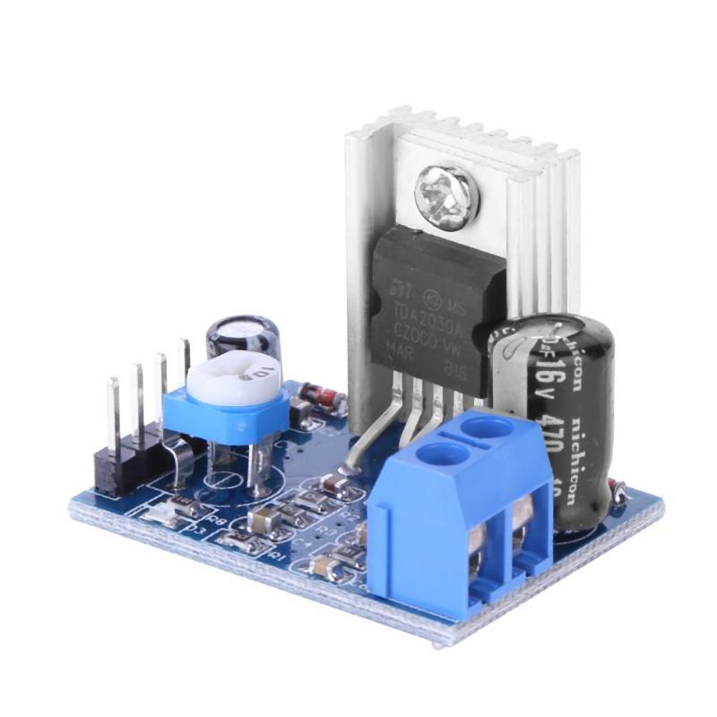 alloyseed audio amplifier board module tda2030a 6 12v single channel 18w power supply module. Black Bedroom Furniture Sets. Home Design Ideas