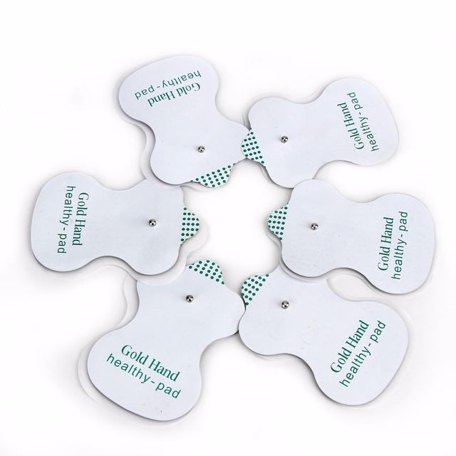 100pcs/80pcs/50pcs Electrode Pads for JR-309 Tens Acupuncture Slimming massage and Digital Therapy Machine Massager Healthy Pads 3