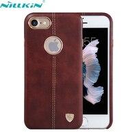 For Apple IPhone 7 7S Plus Case Original NILLKIN Luxury Retro Quality Hard PC Leather Back