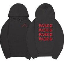 I Feel Like Paul Pablo Kanye West sweat homme hoodies Women MA1 Bomber Sweatshirt Hoodies Hip Hop Streetwear Hoody pablo hoodie