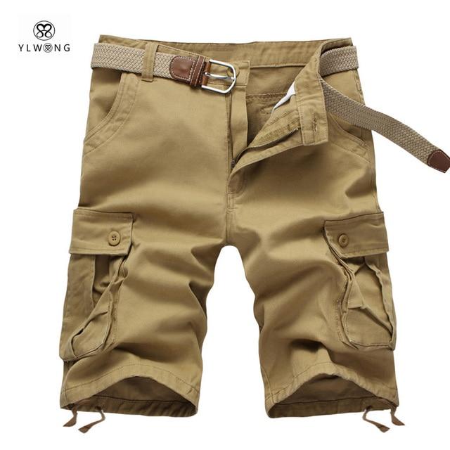 Aliexpress.com : Buy Casual Mens Cargo Shorts 2017 Summer Brand ...