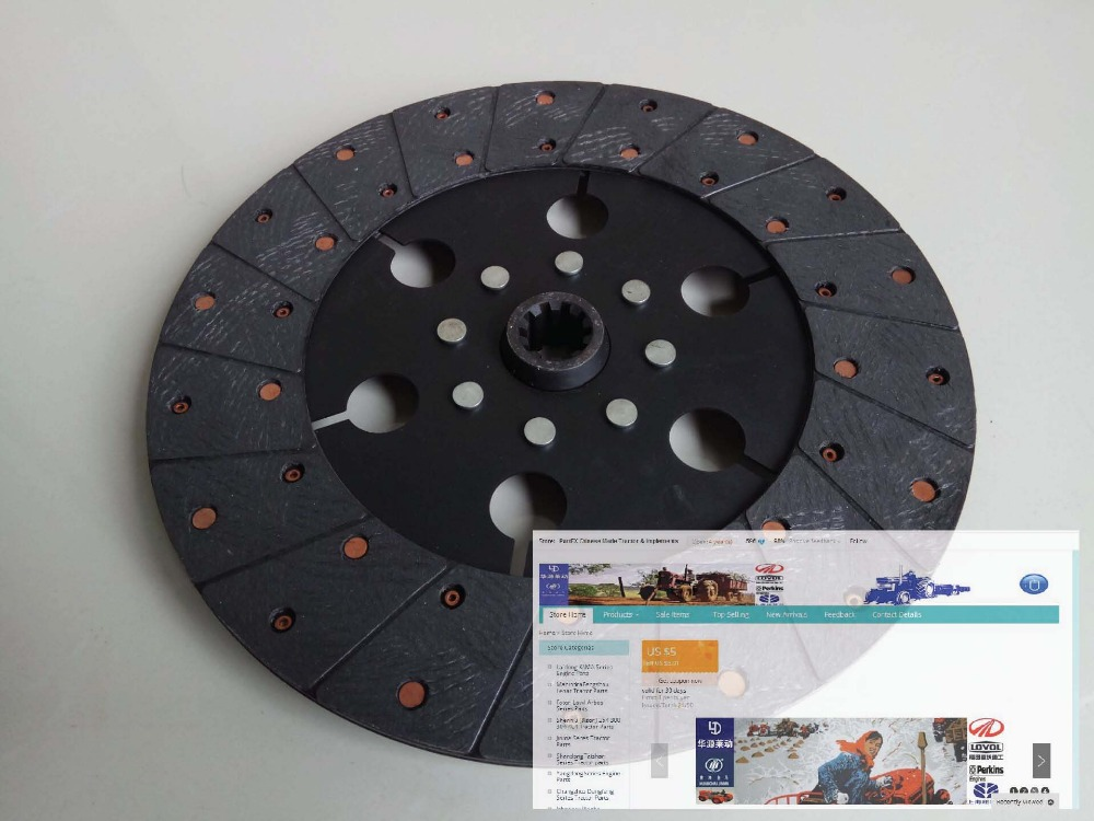 TA800.211.2, the the auxiliary disc for Foton TA series tractor, please check the shape and diameter when make the order