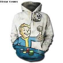 Fallout Vault Boy – 3D Print Hoodie Sweatshirt T-Shirt Unisex