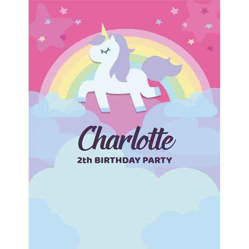 Allenjoy backgrounds for photo studio lovely Unicorn backdrop Rainbow Birthday Party Custom photography Background for photo