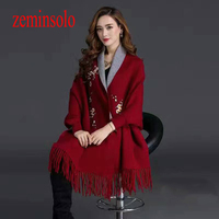Brand New Plum Cashmere Scarf Long Fashion Casual Warm Shawl Scarf Winter Thick Women Scarves Super
