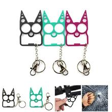 Portable Cute Cat Opener Screwdriver Keychain Self-defense Multifunction Outdoor Gadgets ED-shipping