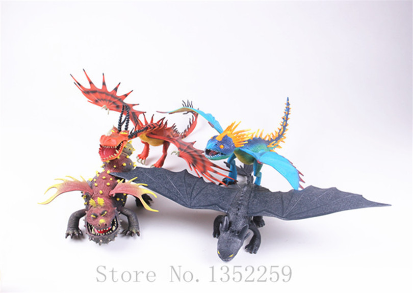 anime how to train your dragon cartoon figure toys night fury deadly