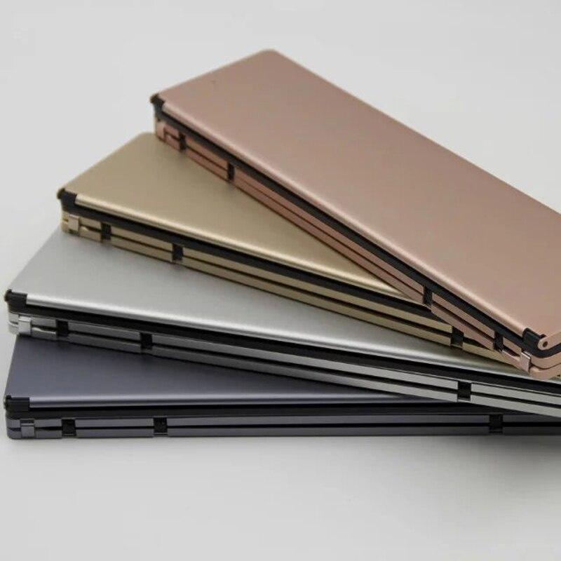 bilder für Universal-Mini Wireless Bluetooth 3,0 Faltender Faltbarer Tastatur für iPhone iPad iOS Android Smartphone Tablet Bluetooth Tastatur