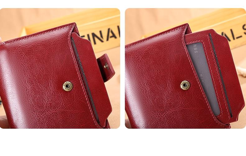 небольшой бумажник женщин; небольшой бумажник женщин; женщины бумажник; Основной Материал: Сплит Кожа;