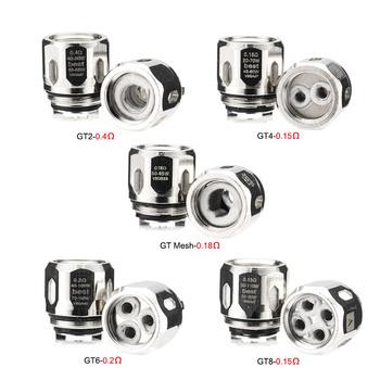 3 sztuk paczka GT rdzenie serii GT2 GT4 GT6 GT8 GT Mesh 0 15-0 4ohm Atomizer wymiana GT cewki dla NRG zbiornik parowy tanie i dobre opinie Podwójny DS A-touch for NRG Vapor Tank 3pcs pack
