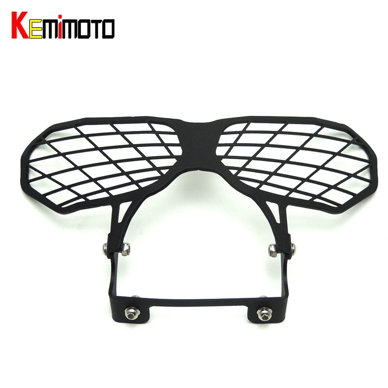 KEMiMOTO for Honda 2016 Africa Twins CRF 1000L Motorcycle Headlight Lens Guard Roof Protection for Honda CRF1000L Africa Twin motorcycle rearview mirror motorbike rear view mirrors universal motocross for honda crf1000l crf 1000l africa twin 2015 2017