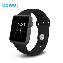 2016 New Arrival Bluetooth Smart Watch WristWatch 1.54″ Display with SIM Wearable Devices SmartWatch for iOS & Android Phone