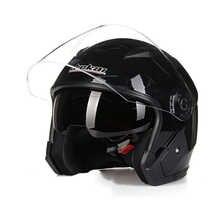 JIEKAI 512 3/4 open face helmet double lens motorcycle helmet SAFETY MOTORBIKE HELMET four season helmet - DISCOUNT ITEM  30% OFF Automobiles & Motorcycles