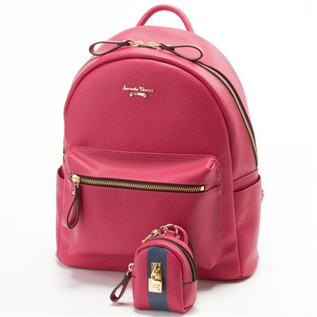 472d3b9a2cb US $52.8 |2017 Luxury brand Girl Cute Samantha Vega Sailor moon Backpack  Schoolbag Women Leather Backpack Bookbag with a lock purse-in Backpacks  from ...