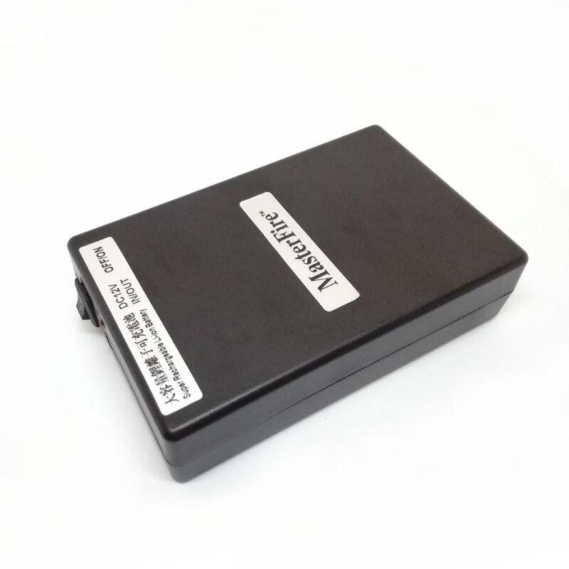 Batterie au Lithium Rechargeable de batterie de Li-ion de cc 12 V 9800 mah de MasterFire YSN-12980 pour la caméra de télévision en circuit fermé