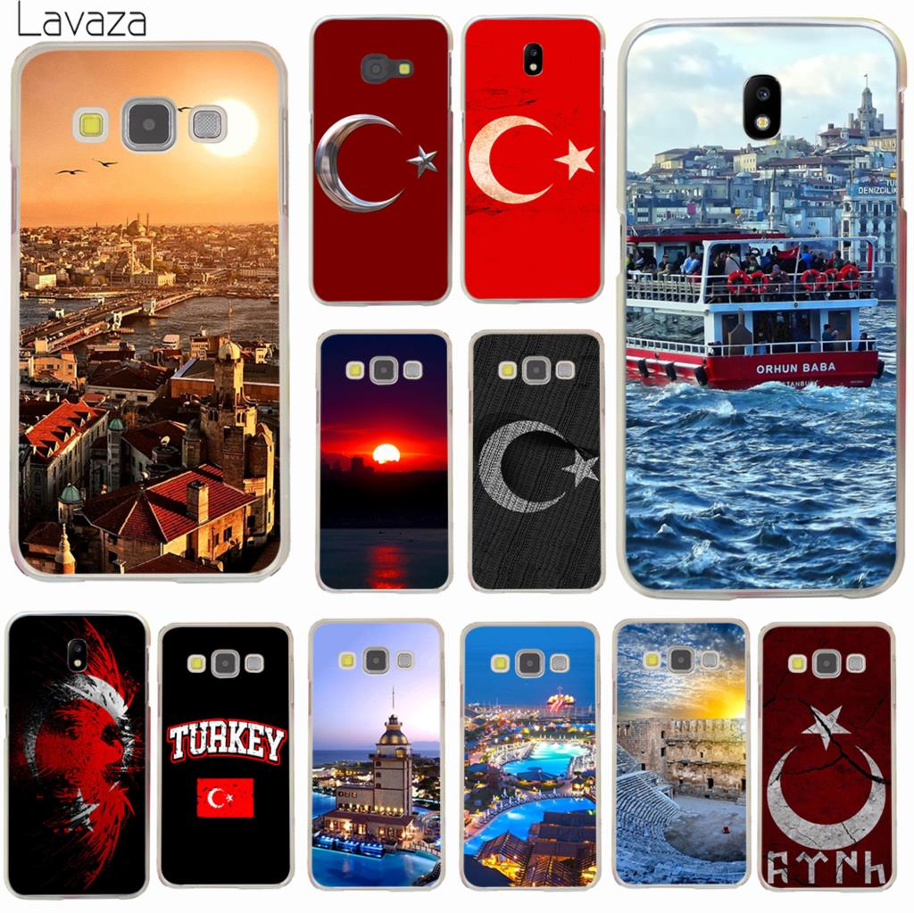 Lavaza Flag of Turkey Istanbul Antalya Hard Phone Case for Samsung Galaxy J3 J1 J2 J7 J5 2015 2016 2017 J2 Pro Ace J7 J5 Prime ...